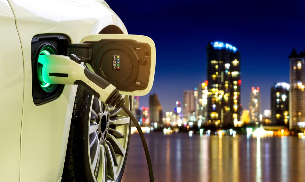 What sort of electricity does an electric automobile use?